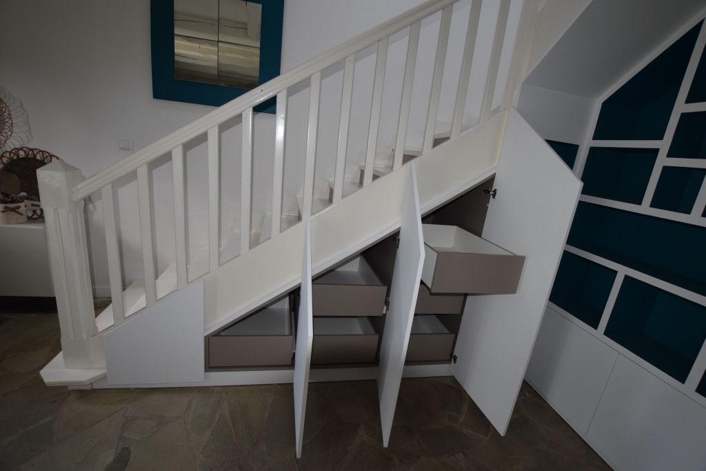 meuble sous escalier brest