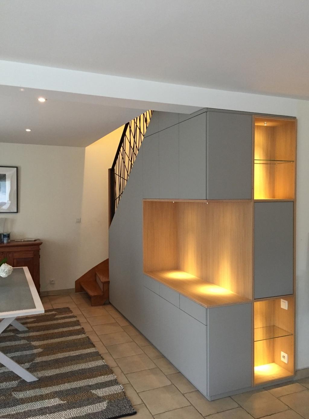 meuble sous escalier à brest le-conquet plouzané le relecq-kerhuon plougastel guipavas saint-renan dans le finistère