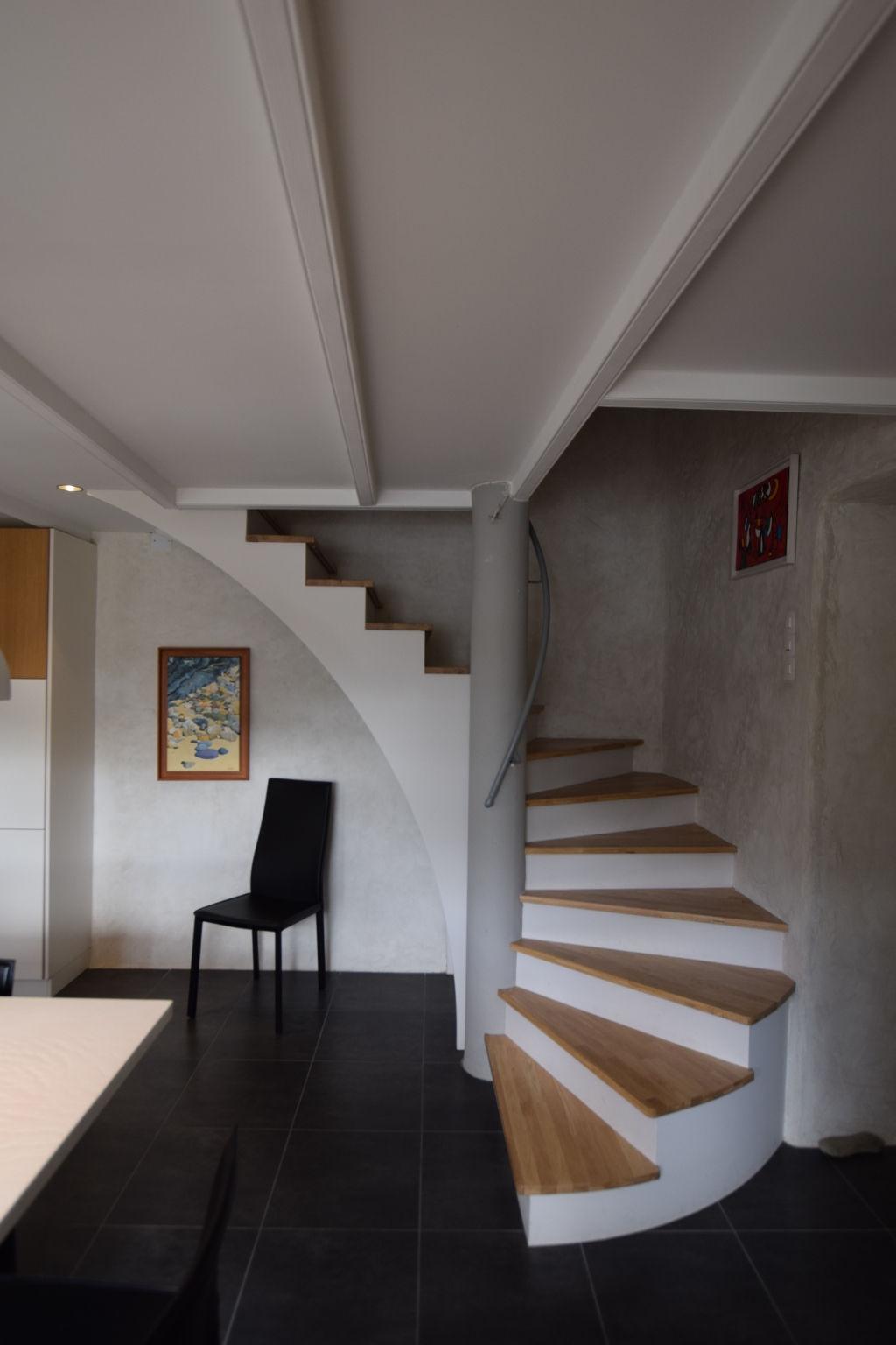 escalier moderne à brest au-conquet plouzané le relecq-kerhuon plougastel guipavas saint-renan dans le finistère