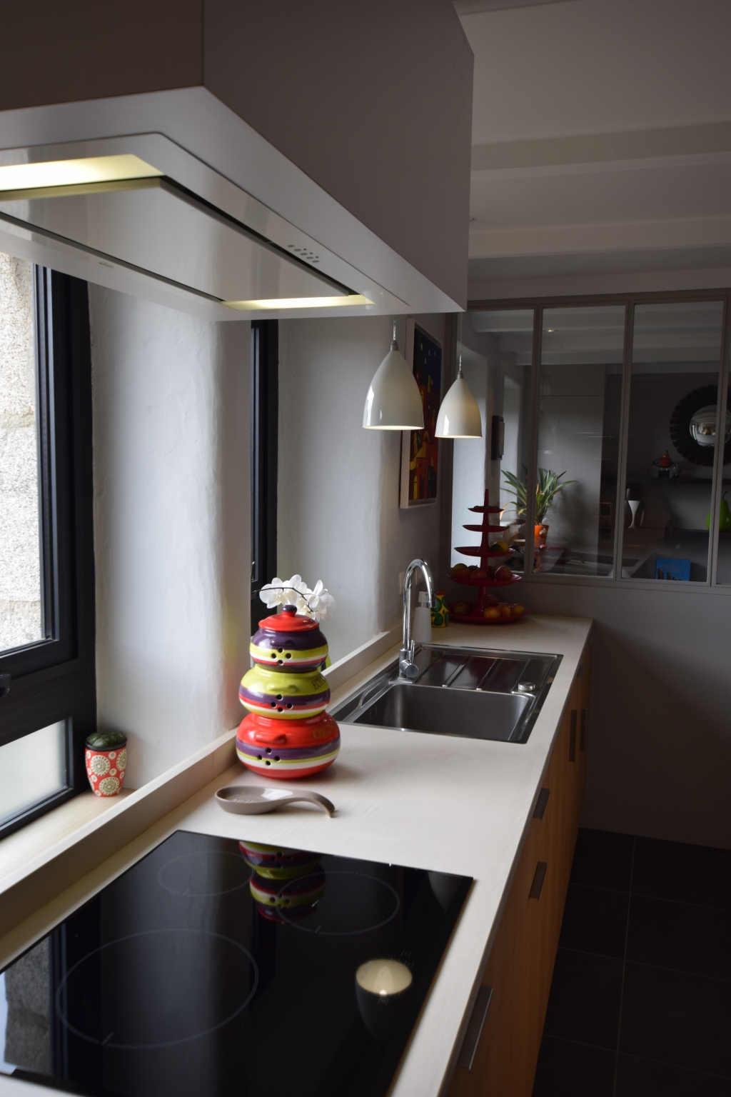 conception fabrication installation de cuisines design sur mesure à brest le-conquet dans le finistère
