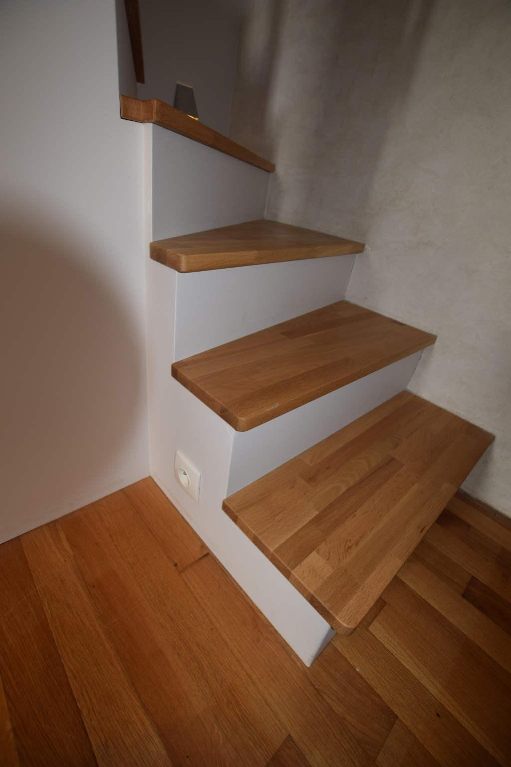 habillage de marches d'escalier à brest au-conquet plouzané le relecq-kerhuon plougastel guipavas saint-renan dans le finistère