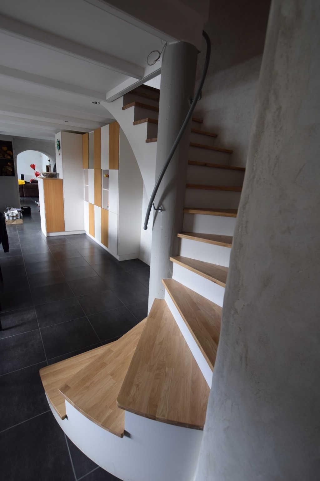 agencement d'escalier à brest au-conquet plouzané le relecq-kerhuon plougastel guipavas saint-renan dans le finistère