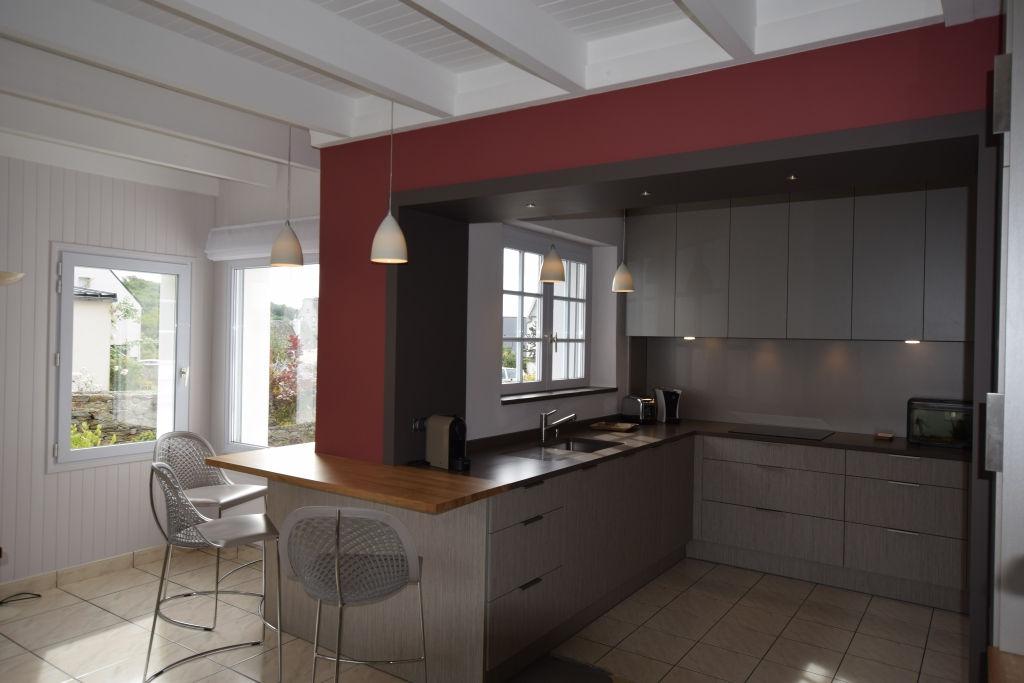 conception de cuisines design sur mesure à brest au-conquet plouzané le relecq-kerhuon plougastel guipavas saint-renan dans le finistère