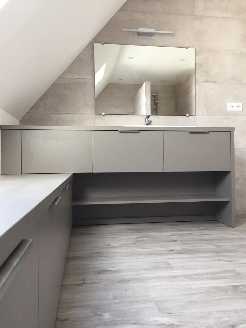 Agencement de salle de bain au Conquet du coté de Brest 29200 Finistère