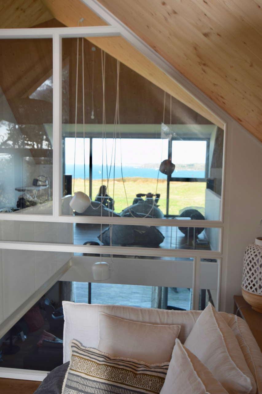Maison bord de mer au conquet Agencement Design intérieur Décoration