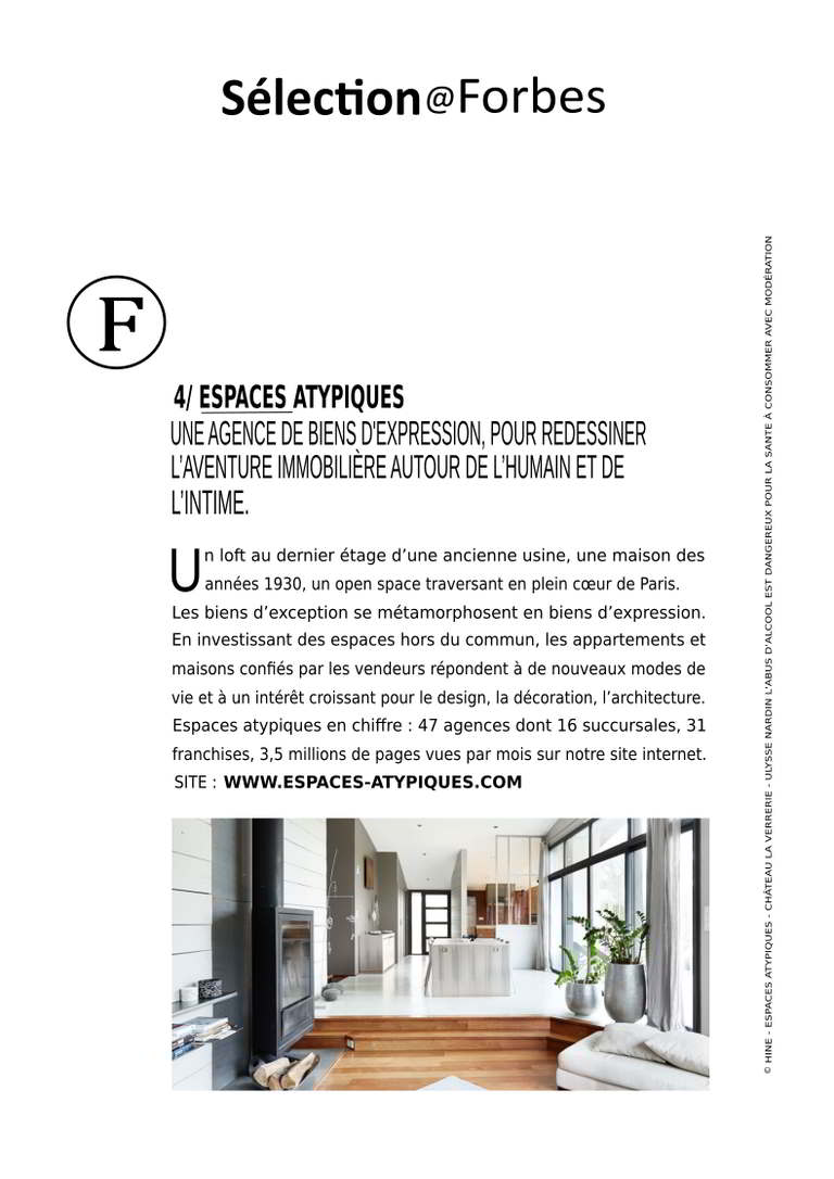 Atelier Michel Le Guennec article Forbes